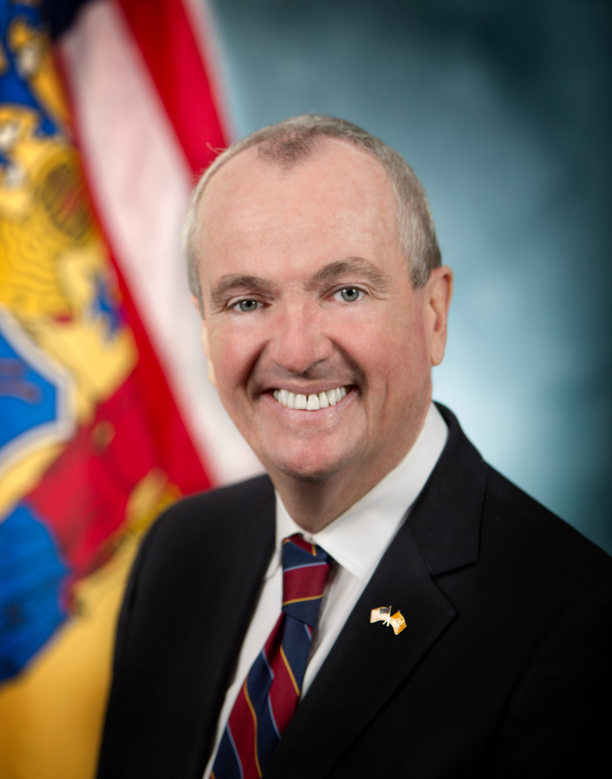 Governor Phil Murphy official headshot in Trenton, N.J. on Tuesday, Dec. 19, 2017. (Governor's Office/Tim Larsen)